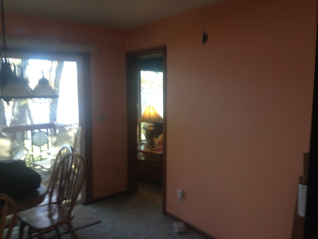 Before addition remodel